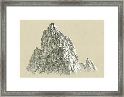 Inner Vision Ruined Portal Framed Print