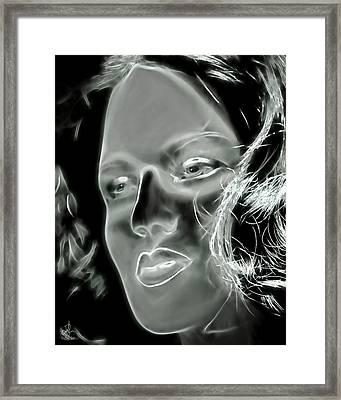 Inner Wisdom Framed Print by Pennie  McCracken