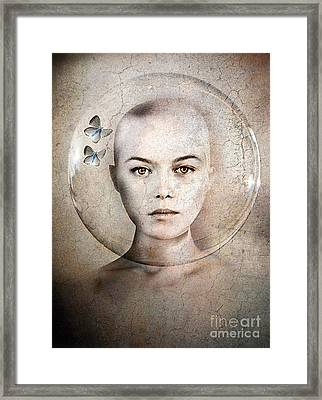 Inner World Framed Print by Jacky Gerritsen