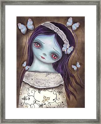 Innocence  Framed Print by  Abril Andrade Griffith