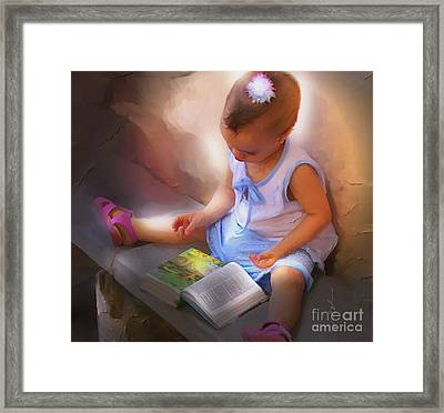 Innocence And The Bible - Cuba Framed Print by Bob Salo