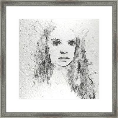 Innocence Framed Print by Anton Kalinichev