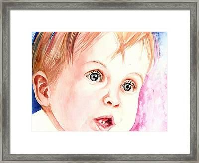 Innocence Framed Print by Arti Chauhan