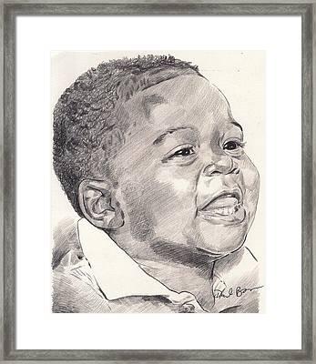 Innocence Framed Print by Darryl Barnes