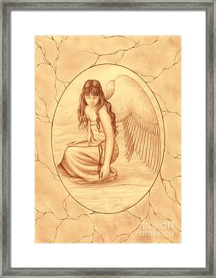Innocence Framed Print by Enaile D Siffert