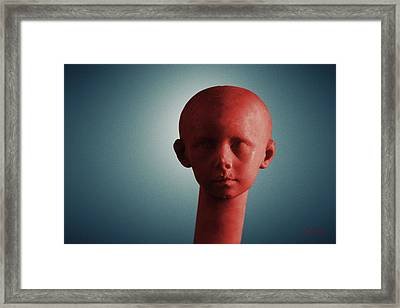 Framed Print featuring the photograph Innocence In Color by Joseph Westrupp