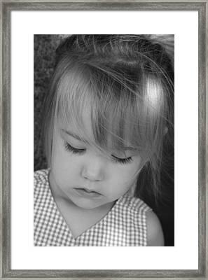 Innocence Framed Print by Margie Wildblood