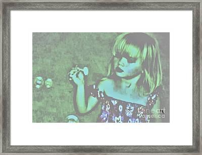 Innocence Framed Print by Marsha Heiken