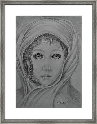 Innocense Framed Print