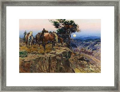 Innocent Allies Framed Print by Pg Reproductions