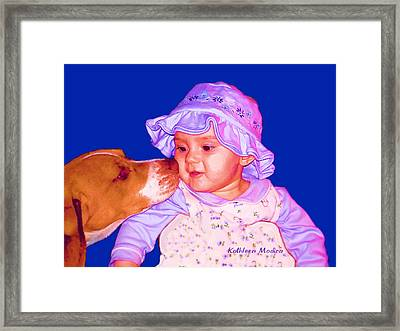 Innocent Curiosity Framed Print