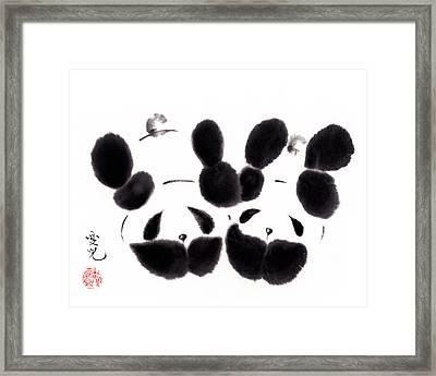 Innocent Love Framed Print by Oiyee At Oystudio