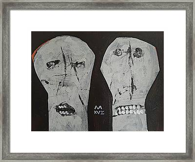 Innocents No 4  Framed Print by Mark M Mellon