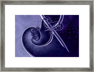 Innoculation Framed Print by David April
