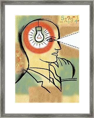 Innovation Framed Print by Leon Zernitsky
