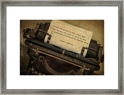 Innovation Framed Print
