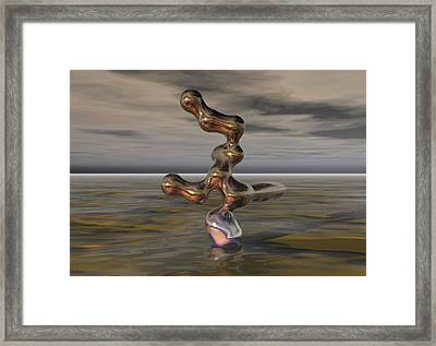 Innovation The Leap Of Imagination  Framed Print