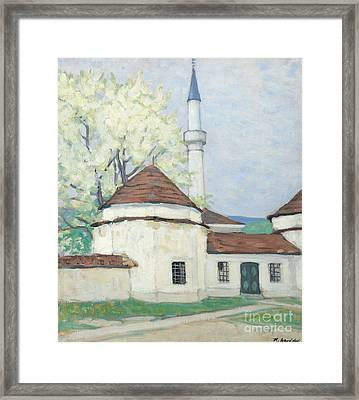Innsbruck Mostar In The Spring Framed Print by MotionAge Designs