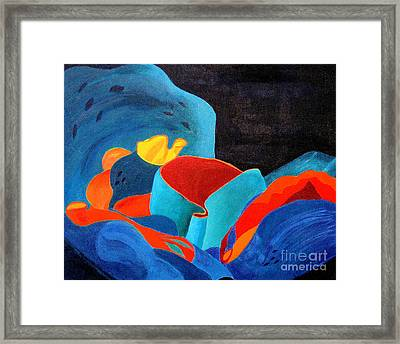 Inorganic Incandescence Framed Print