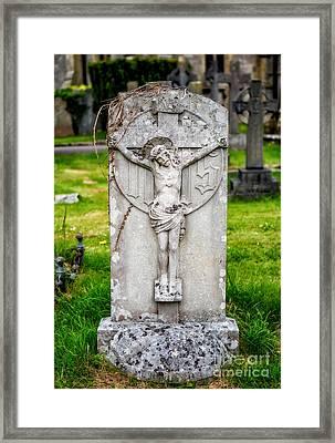 Inri Grave Framed Print