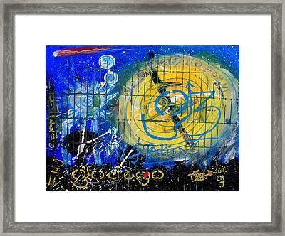 I.n.s Framed Print