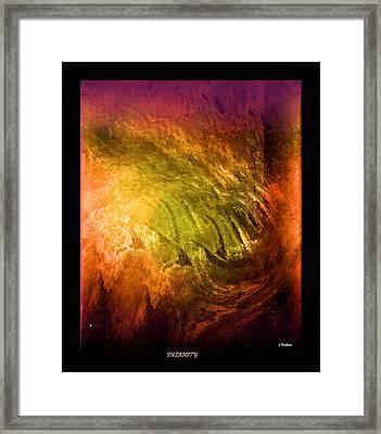 Insanity Framed Print by John Krakora