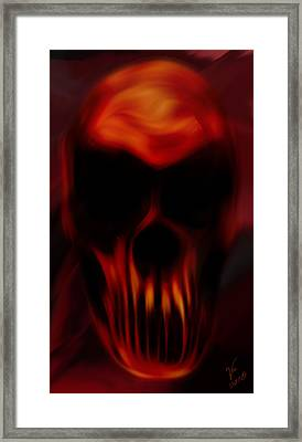 Insanity Framed Print