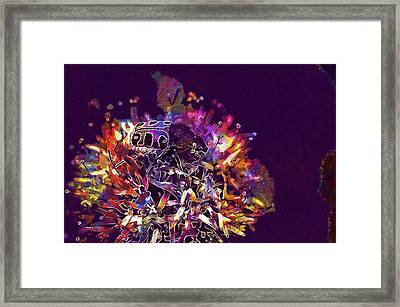 Framed Print featuring the digital art Insect Bug Bee Beetle  by PixBreak Art