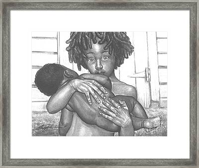 Inseparable Framed Print by Curtis James