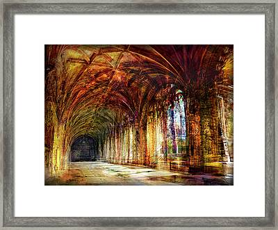 Inside 2 - Transit Framed Print