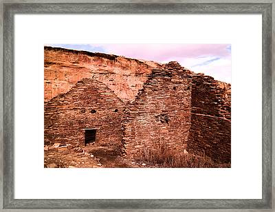 Inside Ancient Walls Framed Print by Jeff Swan