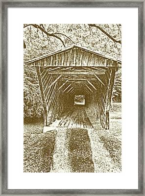 Inside Bob White Bridge Framed Print