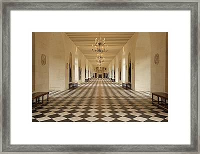 Inside Chenonceau Framed Print