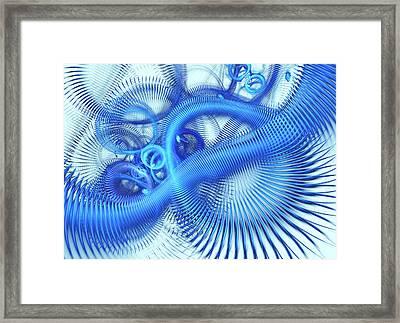 Inside. Computer Generated Image. Framed Print