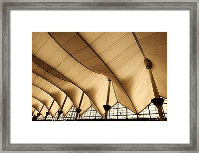 Inside Dia Framed Print by Joe Bonita