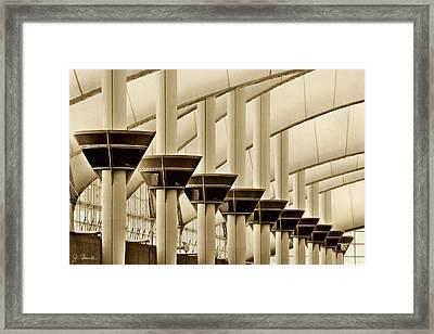 Inside Dia No. 2 Framed Print by Joe Bonita
