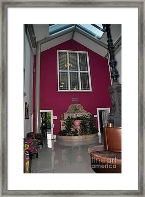 Inside Entry Lyrath Estate Hotel Framed Print