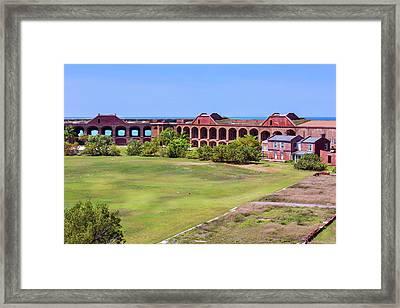 Inside Fort Jefferson Framed Print