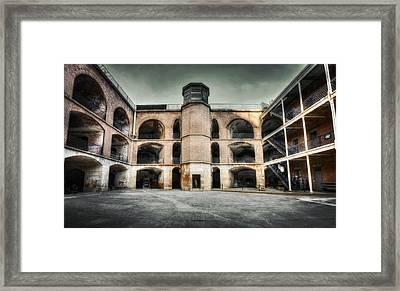 Inside Fort Point - San Francisco Framed Print by Jennifer Rondinelli Reilly - Fine Art Photography