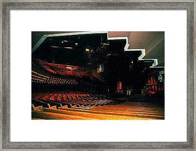 Inside Grand Ole Opry Nashville Framed Print
