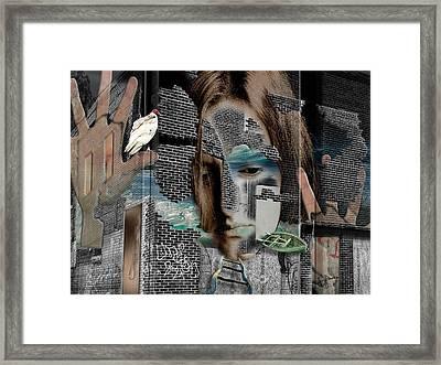 Inside Her Mind Framed Print