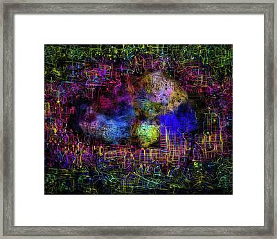 Digital Womb Framed Print by Eye Browses
