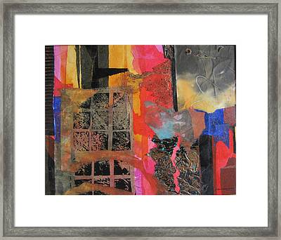 Inside My World Framed Print