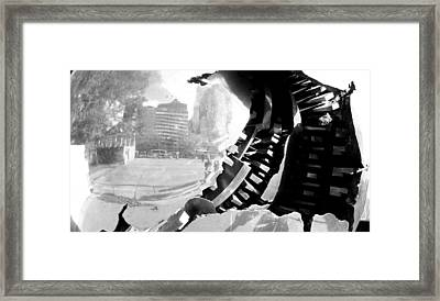 Inside Out I Framed Print by Oksana Pelts