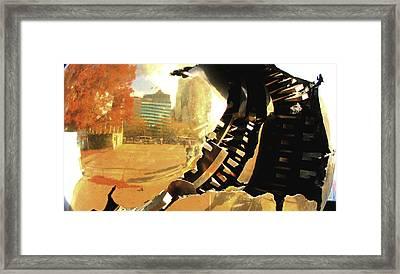 Inside Out II Framed Print by Oksana Pelts