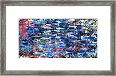 Inside Out Framed Print by Joan De Bot