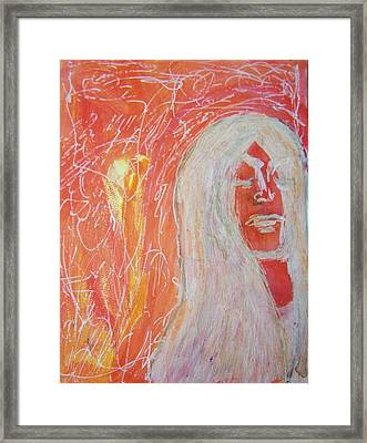 Inside Out Framed Print by Judith Redman