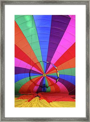 Inside Out Framed Print by Marie Leslie