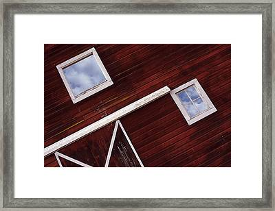 Inside Out Framed Print by Rebecca Cozart