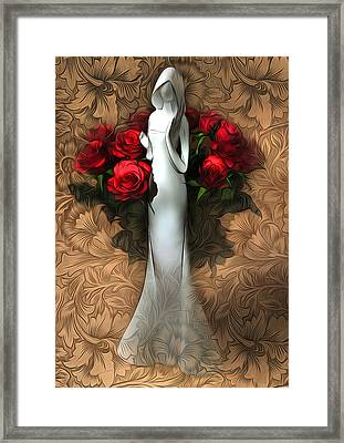 Inside Pattern Framed Print by Svetlana Sewell